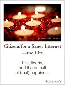 In pursuit of Internet Happiness? Click here.
