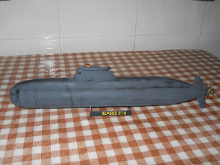 revell scale 1:144 new german submarine class 212A