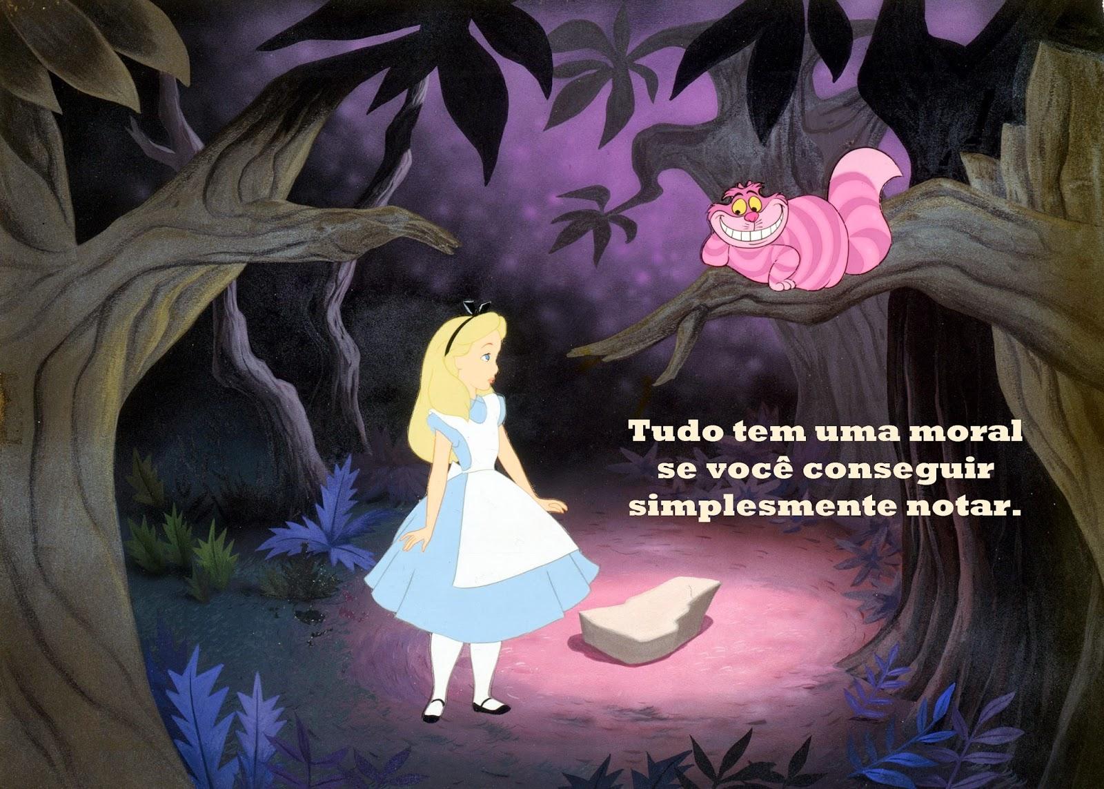 Frases Do Livro Alice No País Das Maravilhas