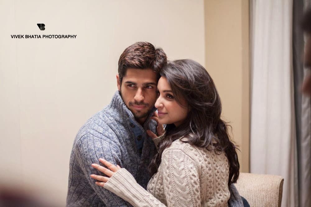 Behind the Scenes with Sidharth Malhotra & Parineeti Chopra ...
