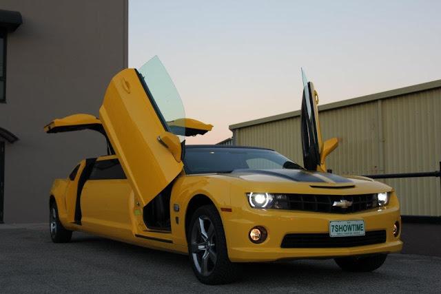Фото лимузин Chevrolet Camaro