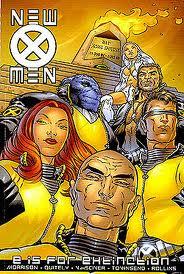 x-men e is for extinction graphic novel grant morrison