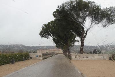 Bajo la lluvia El Hotel Abadía Retuerta Le Domaine. Blog Esteban Capdevila