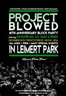 Project Blowed 17th Anniversary -- Courtesy of Project Blowed