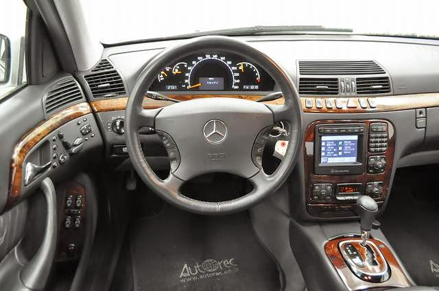 2001 Mercedes S320 Lhd For Nigeria To Lagos Japanese