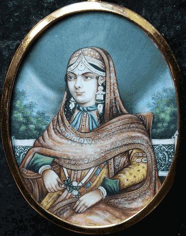 Lukisan ratu Jodha