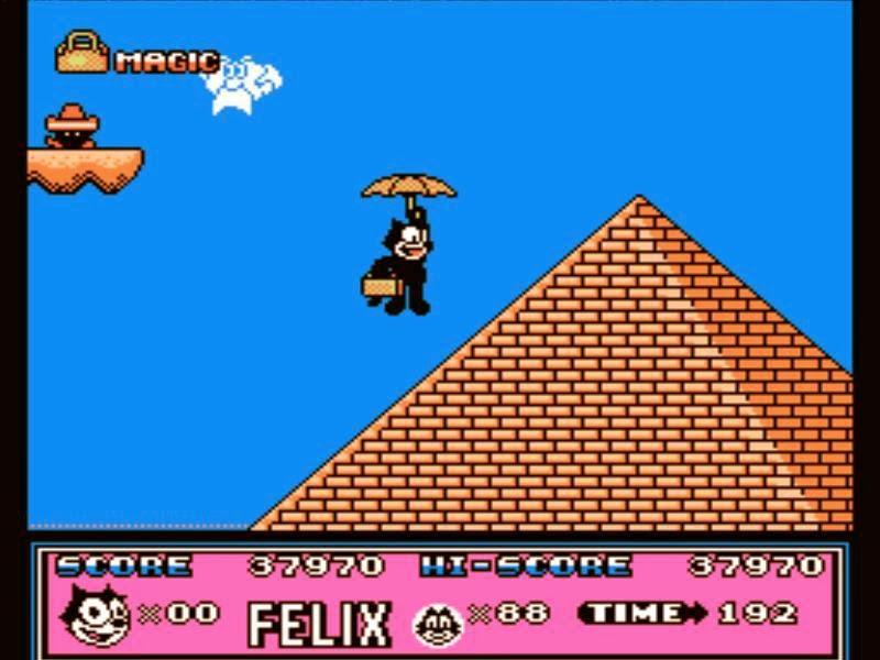 Felix The Cat Nintendo Game