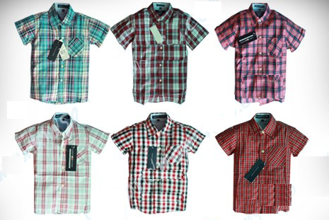 Wholesale branded baby clothes: Tommy Hifiger : Boy Plaid ...