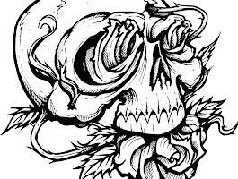 Scary Cartoon Ghost Drawings