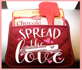 Spread The Love Oven Mitt Kit
