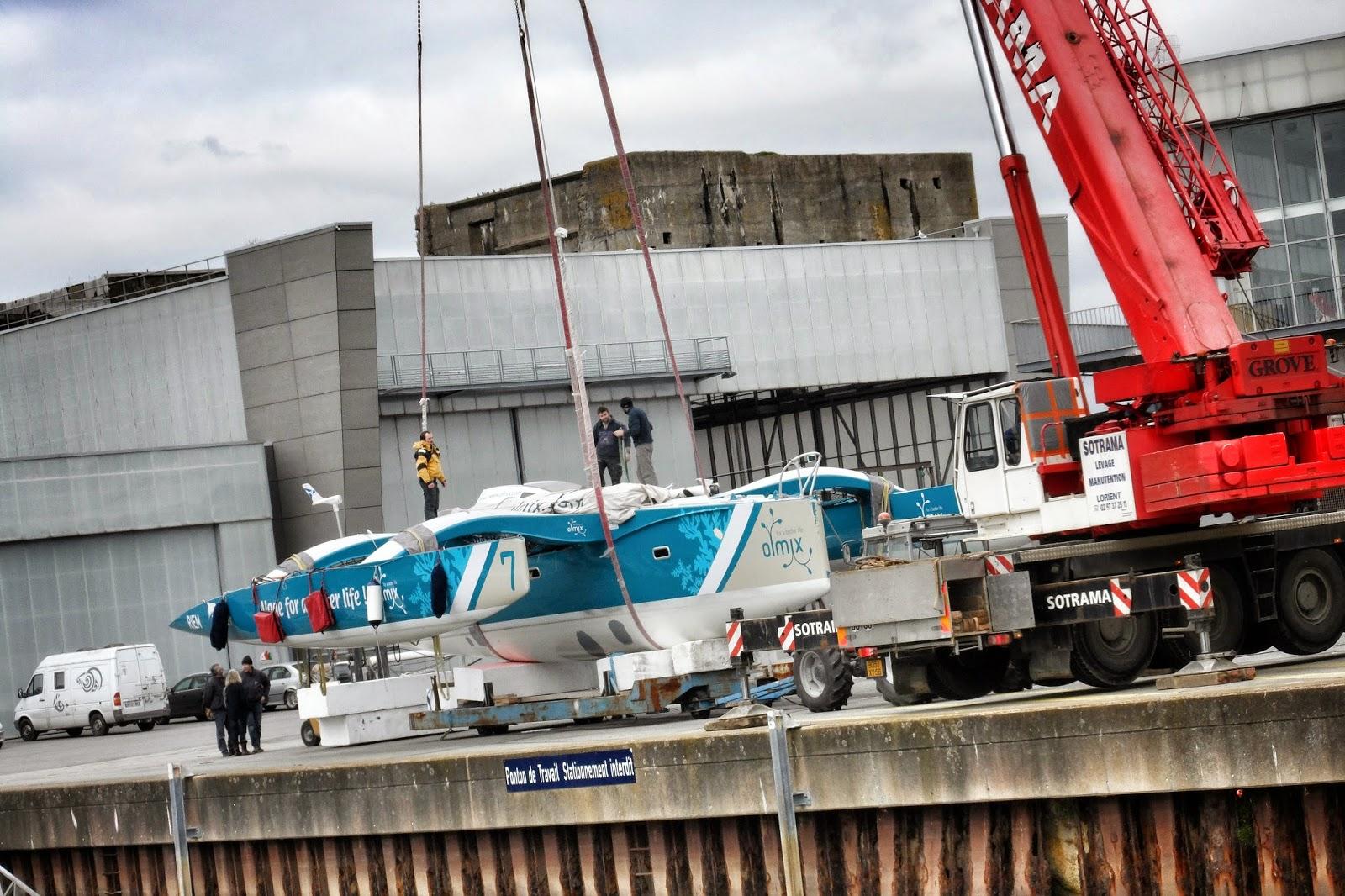 Olmix de retour à Lorient.