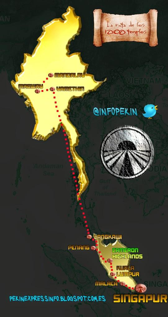 Pekin Express La ruta de los mil templos