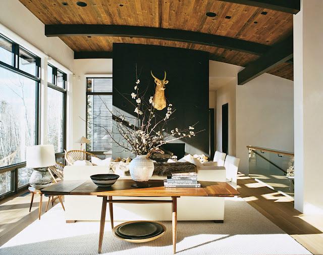 decoración de invierno apartamento de aerin lauder publicado por vogue
