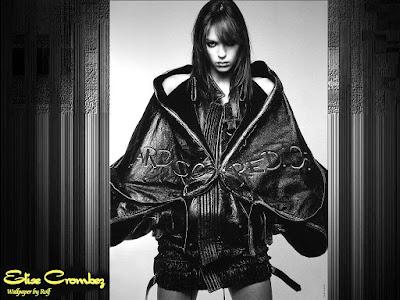 Fashion Model Elise Crombez Wallpaper