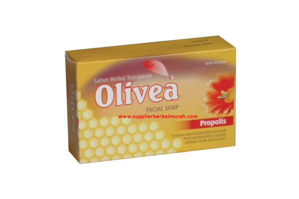 Sabun Wajah Herbal Olivea Propolis
