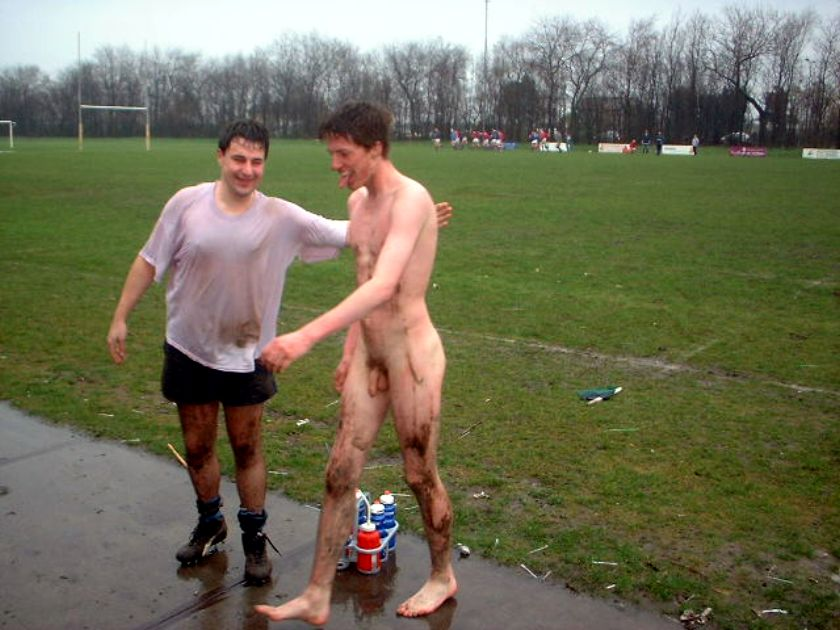 Naked Rugby Boys Cock