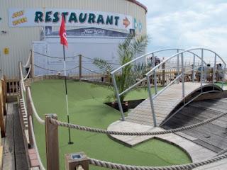 Miniature Golf course on Clacton Pier