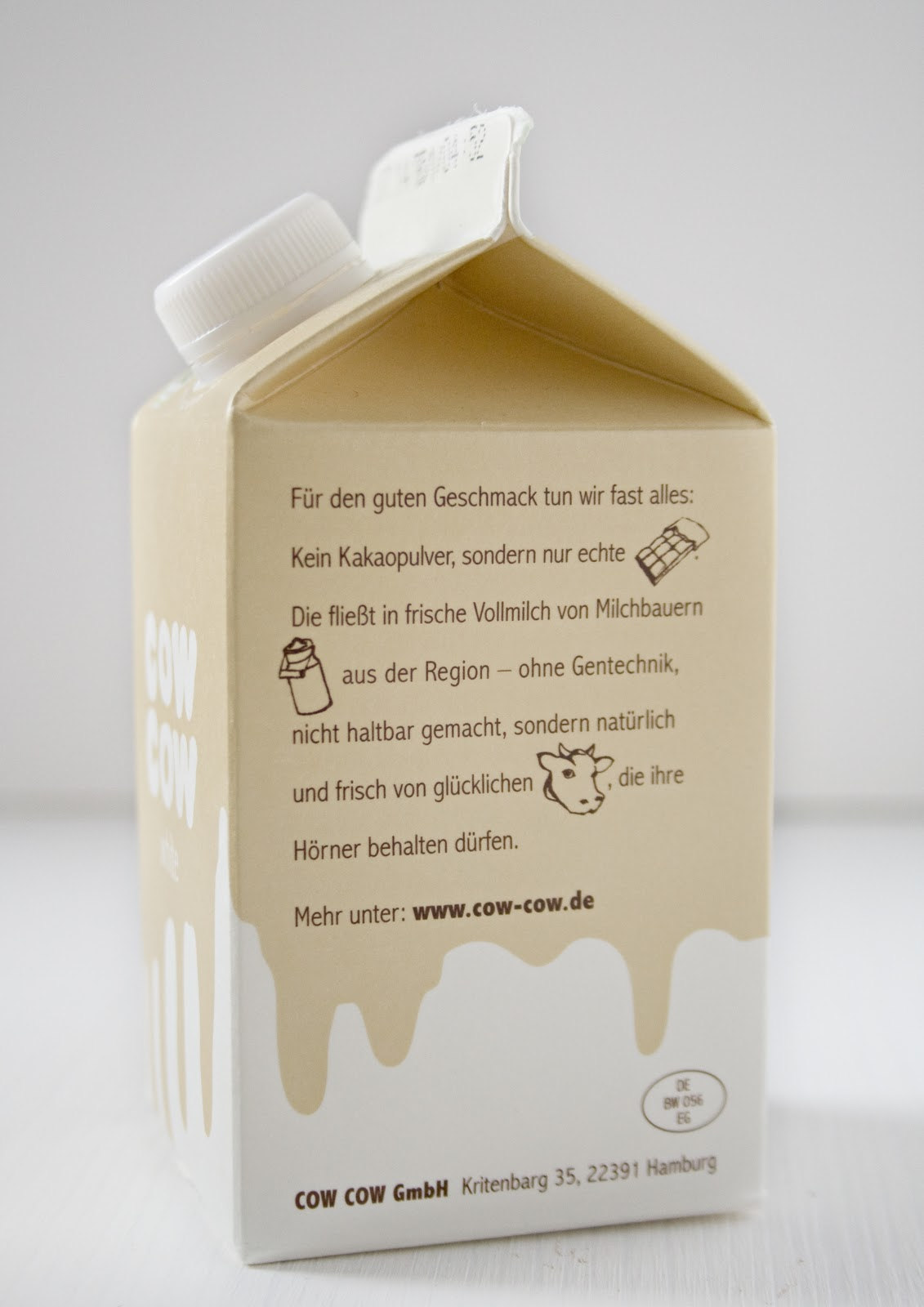 Cow Cow weiße Schokoladenmilch