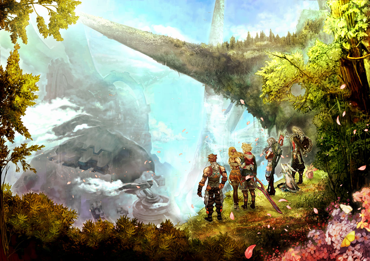 Xenoblade HD & Widescreen Wallpaper 0.623554646763788