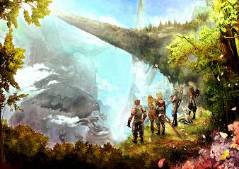 #5 Xenoblade Chronicles Wallpaper