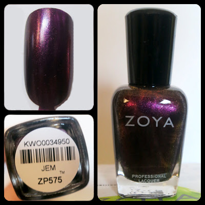 Zoya Nail Polish Jem