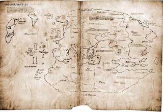 peta vinland misterius dihargai $25 juta USA