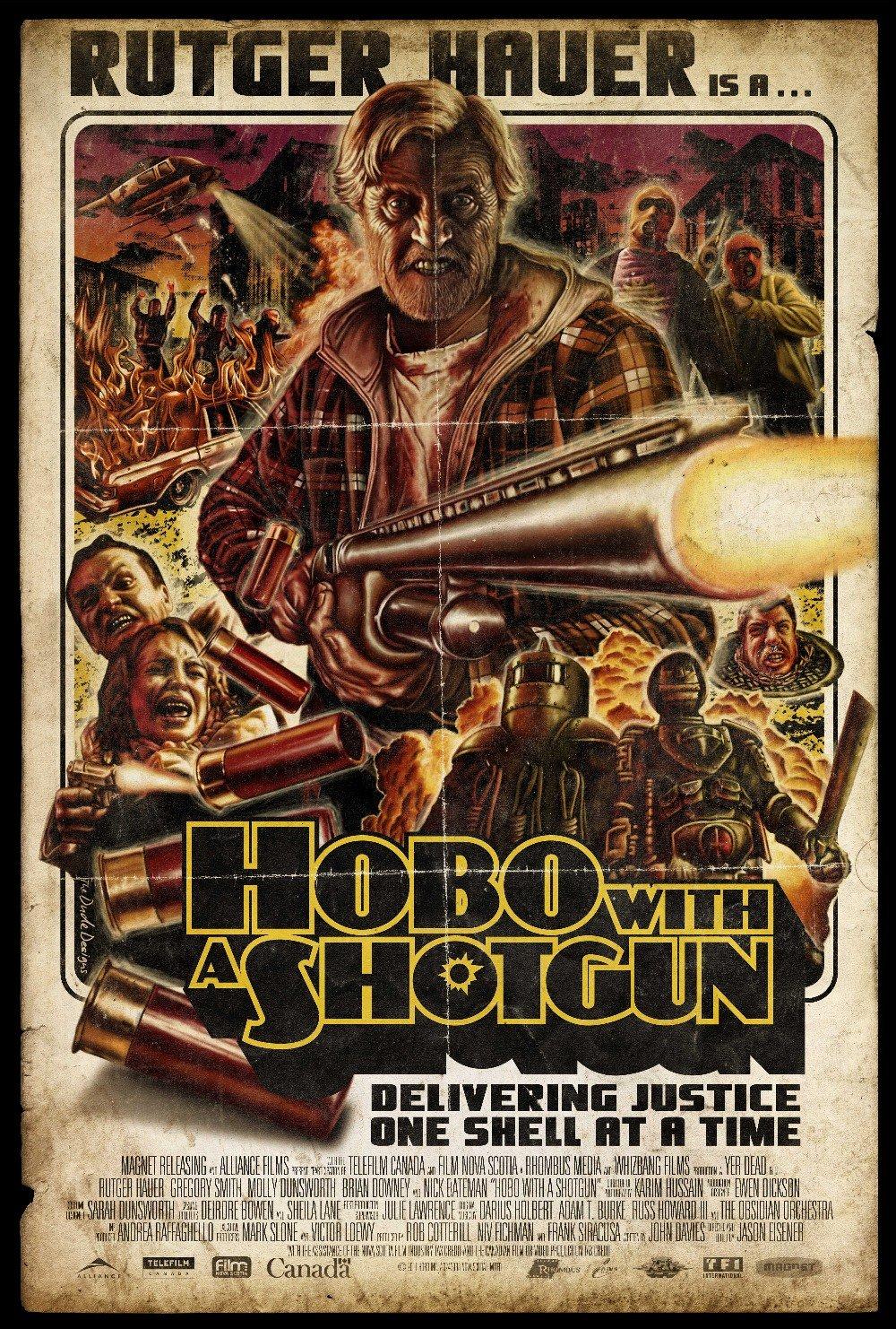 hobo with a shotgun xlg Một bộ phim làm điên đảo các fan hâm mộ Lý Liên Kiệt, Brucce Willis, ...