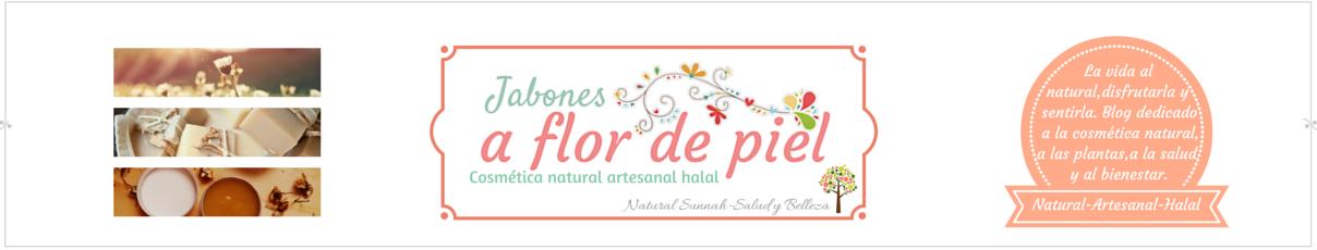 """JABONES Y COSMETICA NATURAL """"A FLOR DE PIEL"""""""