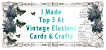 Vintage Ellusions Cards & Crafts Challenge