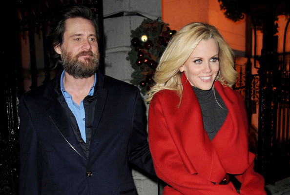 of jim carrey and wife...