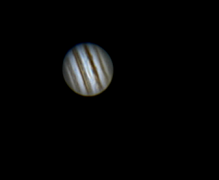 Jupiter and the Great Red Spot 1-21-16