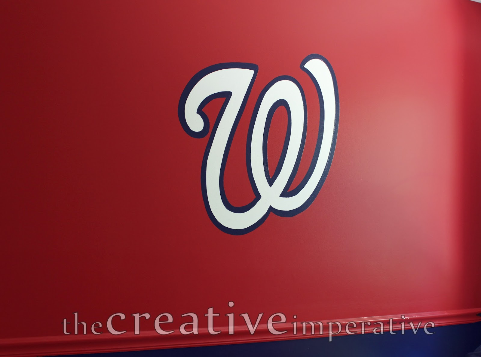 the creative imperative some yankees and nationals baseball murals he also had a baseball painted on his wall i have been wanting to paint a mural like this ever since i saw the inspiration here