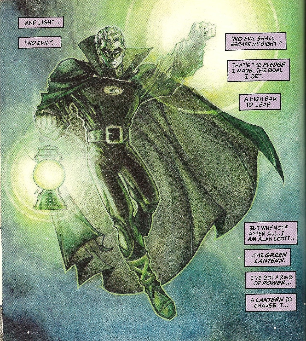 the green lantern alan scott
