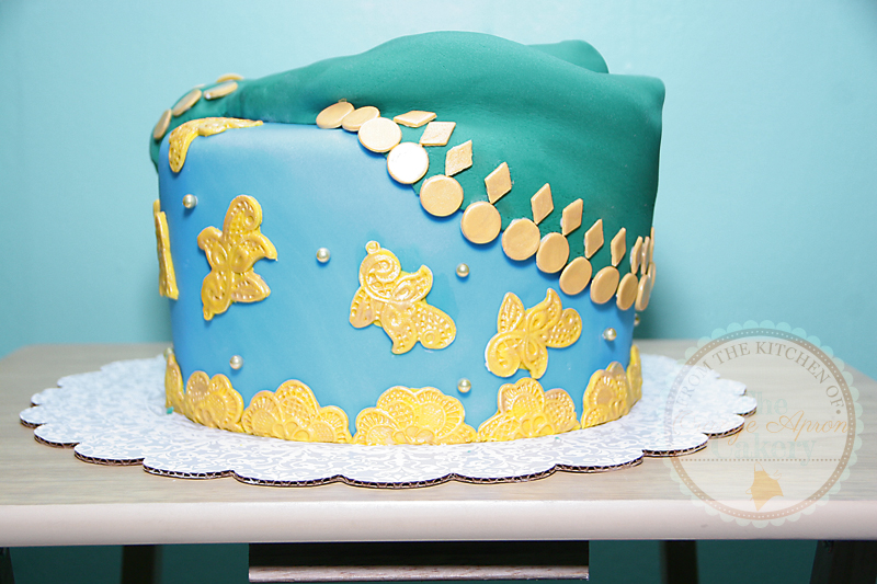 belly dancer cake design