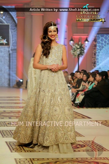 Sahar Atif Bridal Collection 2014 at TBCW-2014-2015
