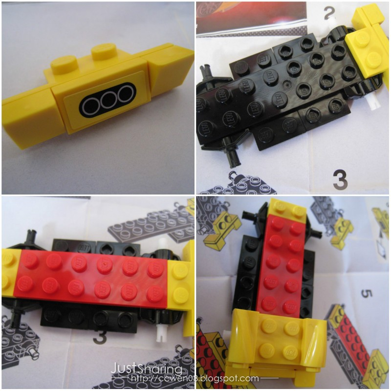 Just Sharing 文の分享站: Shell LEGO Ferrari Miniature - 458 Italia