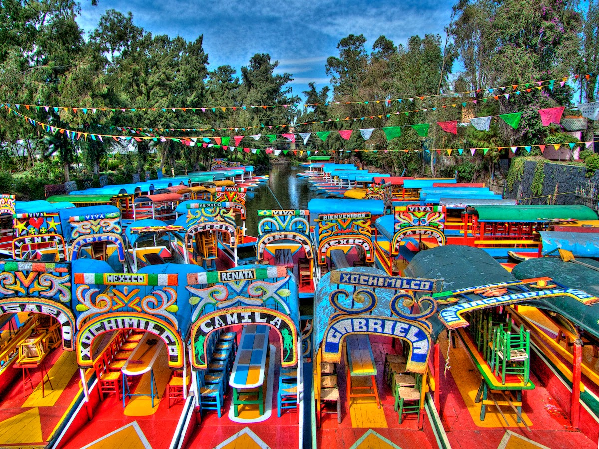 Lieux de vill giatures insolites isla de las mu ecas for Jardin xochimilco