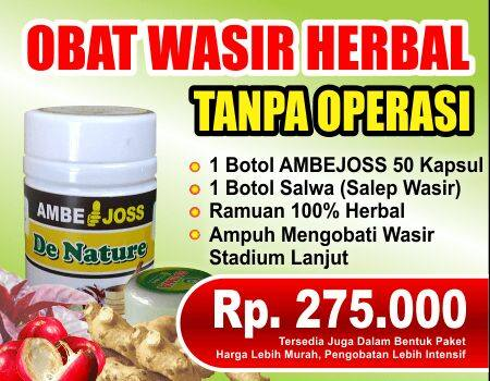 ambejoss dan salep sala de nature obat wasir atau ambeien stadium 2 3 4