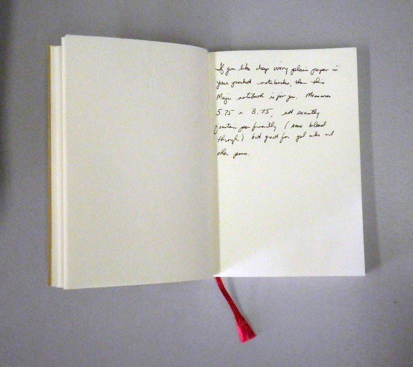 Pocket Blonde: Muji Pocket Notebook