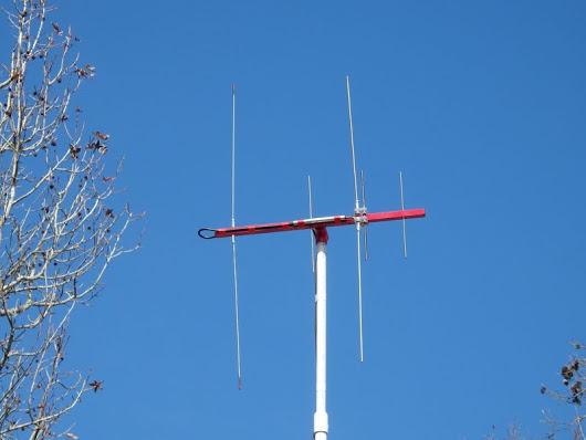Dual Band 5 Element UHF/VHF