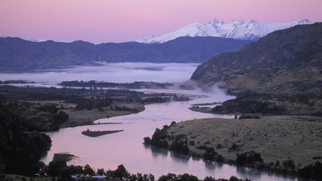 Baker River In The Chilean Patagonia HD Wallpaper
