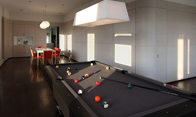 Site Blogspot  Modern Living Room Photos on Modern Billiard Living Room In New York   Interior Design   Interior