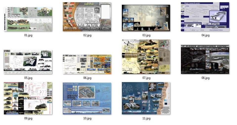 Architectural design projects 10 graduation projects for Architectural design with sketchup