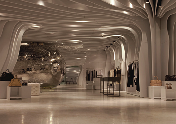11 awe inspiring modern store designs and futuristic interiors