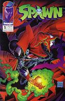 Primeira edição de Spawn pela Imagem Comics