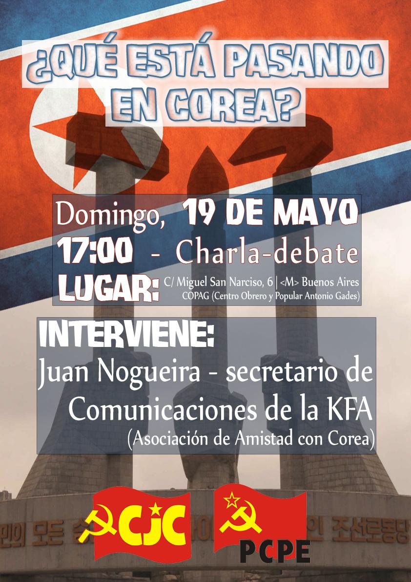 [CJC MADRID] Charla-Debate -: ¿Qué está pasando en Corea? CoreaA3_1