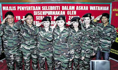 Siti Nurhaliza Bersama 7 Artis Sertai Askar Wataniah
