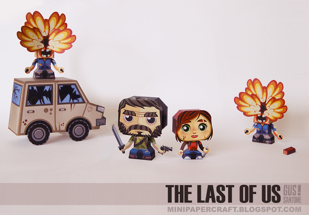 The Last of Us Paper Toys