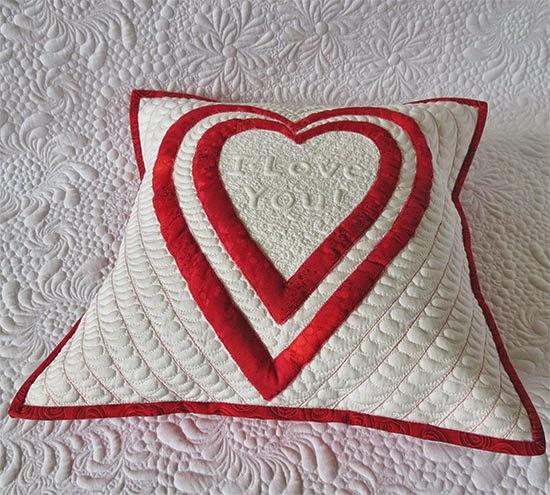 Valentine's Day Quilt - free pattern