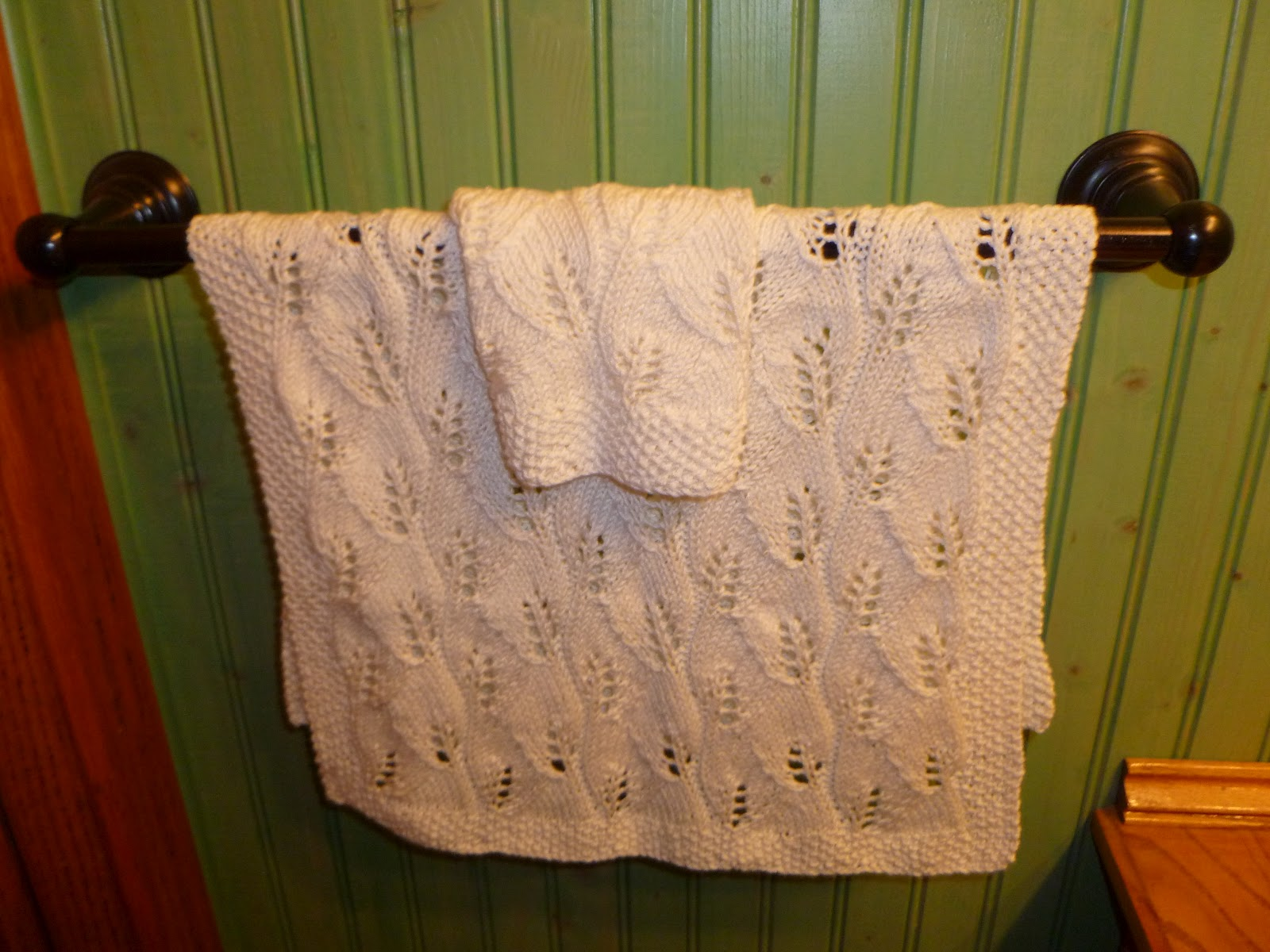 Fresh Maked: Lace Hand Towel